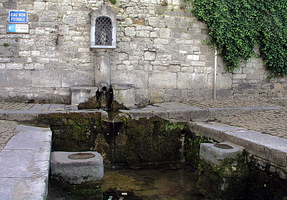 Fontaine Ste Begge du XVIIè siècle (Andenne)