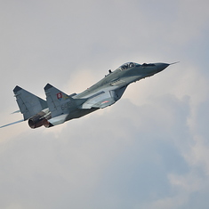 Mig-29 tchèque Demo Team