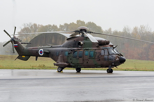 Slovenia Air Force. Eurocopter AS-532AL Cougar.
