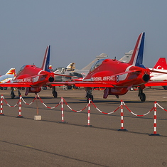Les Red Arrows