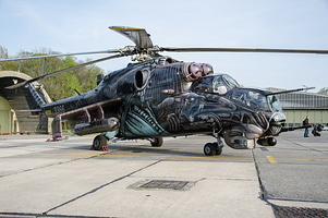"Czech Air Force - Mi 35 Hind ""Alien Tiger"""