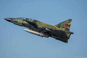 Saab Viggen - Swedish Air Force